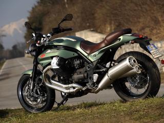 обои 2010 Moto Guzzi Griso 8V SE бок фото