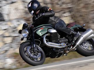 обои 2010 Moto Guzzi Griso 8V SE скорость фото