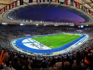 обои Большой стадион фото