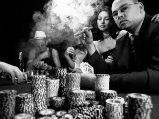 обои Игра в Покер фото