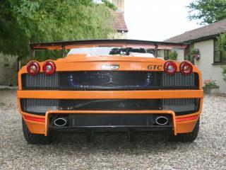 обои Salica GTC 2008 задок фото