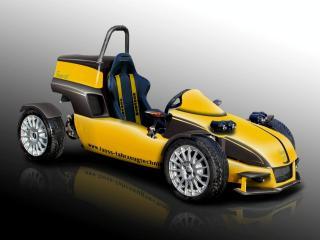 обои 2009 Fuoss 01 Lightweight Trackcar бок фото