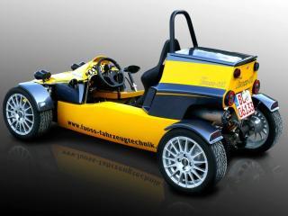 обои 2009 Fuoss 01 Lightweight Trackcar зад фото