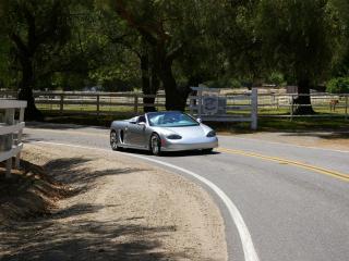 обои 2007 UEV Spyder поворот фото