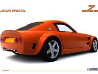 обои 2009 Zolfe Classic GTC4 боком сила фото