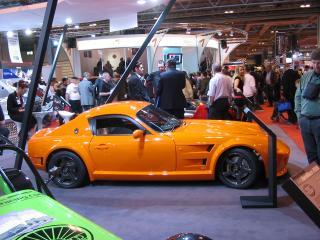 обои 2009 Zolfe Classic GTC4 на выставке фото