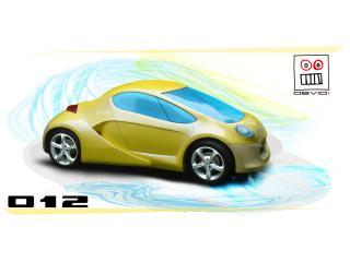 обои 2007 Obvio! 012 желтый фото