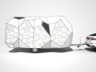 обои 2008 Mehrzeller Caravan Concept белый фото