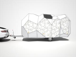 обои 2008 Mehrzeller Caravan Concept бок фото