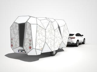 обои 2008 Mehrzeller Caravan Concept зад фото