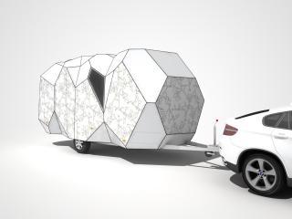 обои 2008 Mehrzeller Caravan Concept перед фото