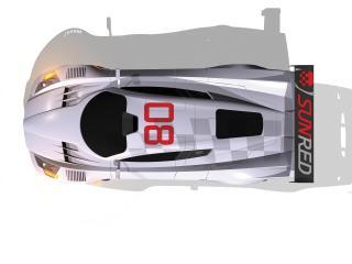 обои 2008 Sunred SR08 GT1 Concept крыша фото