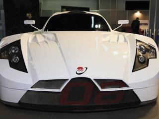 обои 2008 Sunred SR08 GT1 Concept перед фото