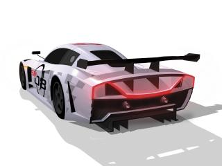обои 2008 Sunred SR08 GT1 Concept стопы фото
