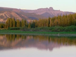 обои Yellowstone-Lake, Wyoming фото