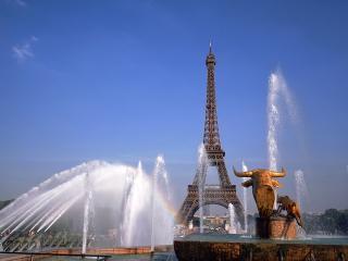обои Фонтаны Парижа фото