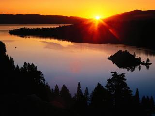 обои Lake Tahoe, California фото