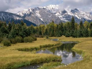 обои Grand Teton National Park, Wyoming фото