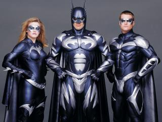 обои Бэтмен и Робин команда фото
