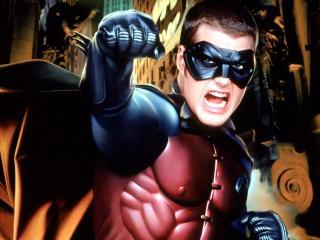 обои Бэтмен навсегда сильный фото