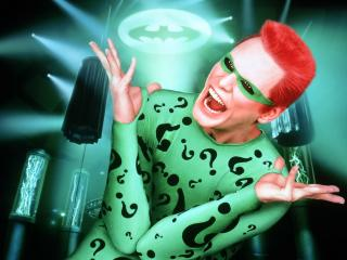 обои Бэтмен навсегда чудик фото