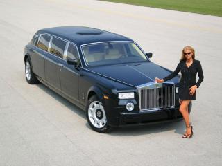 обои Genaddi Design Rolls Royce Phantom Лимузин фото