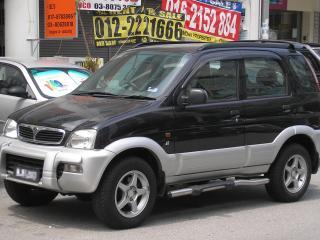 обои Perodua Kembara бок фото