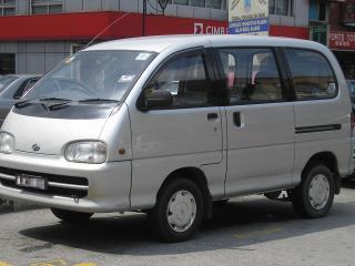 обои Perodua Rusa бок фото