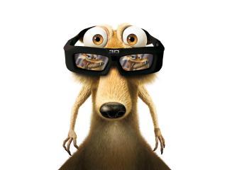 обои Эра динозавров очки фото