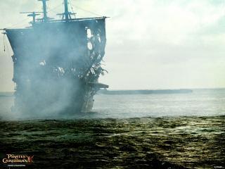 обои Проклятие Черной корабль фото