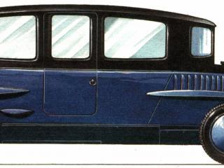 обои Rumpler Tropfenwagen 1921 сбоку фото
