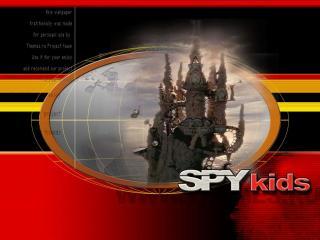 обои Дети шпионов замок фото