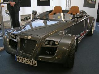 обои Michalak C7 prototype перед фото