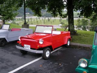 обои King Midget Model III красная фото