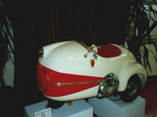 обои Brutsch Mopetta 1957 сбоку фото