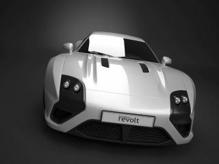 обои 2008 E-Go Revolt Concept перед фото