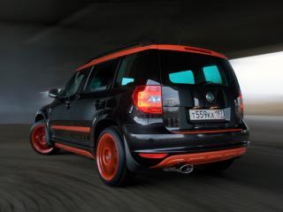 обои BT Design Skoda Yeti 2011 черная фото