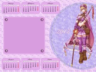 обои Календарь 2012 - Фентази фото
