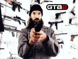 обои Grand Theft Auto 2 бандит фото