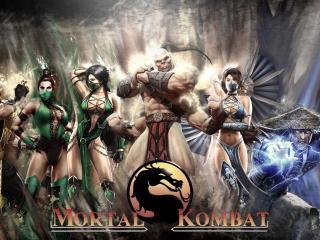 обои Легендарные воины Mortal Kombat фото