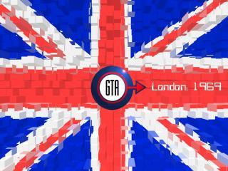 обои London 1969 флаг фото