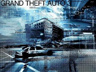 обои Grand Theft Auto 3 город фото