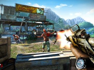 обои Far cry 3 атака фото