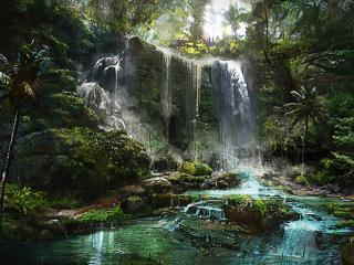 обои Far cry 3 водопад фото