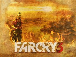 обои Far cry 3 огонь фото