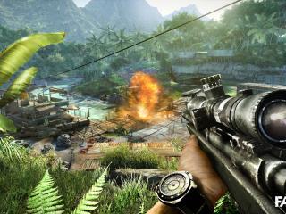 обои Far cry 3 снайпер фото