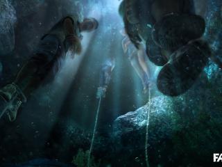 обои Far cry 3 трупы в реке фото