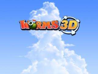 обои Worms 3D лого фото