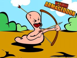 обои Worms Armageddon стрелы фото