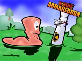 обои Worms Armageddon таймер фото
